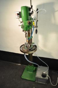 gemonteerd koelsysteem type SA op standboormachine